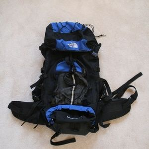 The North Face 55L Hiking / Backpacking Backpack